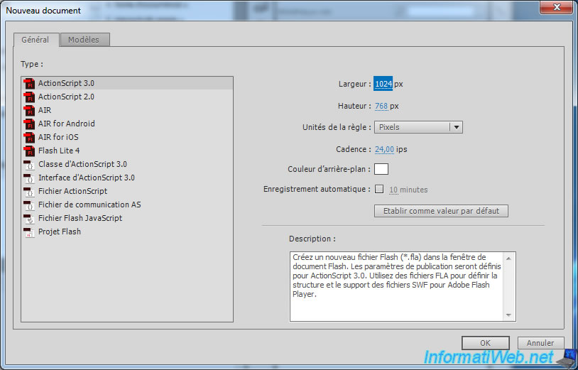 Adobe After Effect - Export a large animation to SWF by Adobe Flash ...
