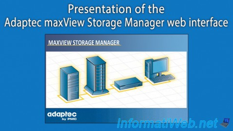 Adaptec maxView Storage Manager - Presentation