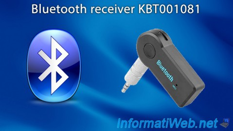 Bluetooth receiver KBT001081