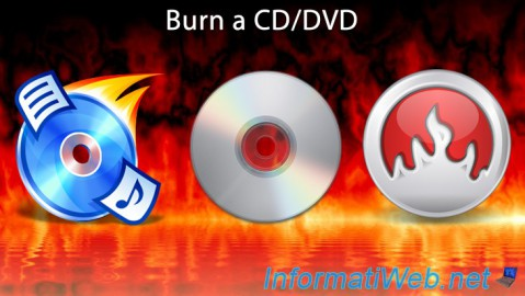 Burn a CD/DVD