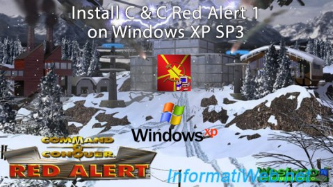 C & C Red Alert 1 - Install on Win XP SP3