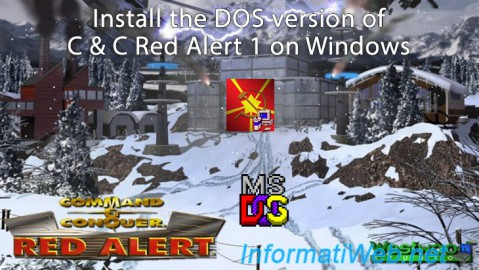 C & C Red Alert 1 - Install the DOS version on Win XP to 7