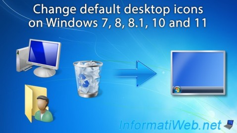 Change desktop icons