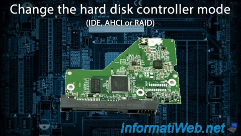 Change the hard disk controller mode