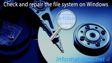 Check and repair the file system