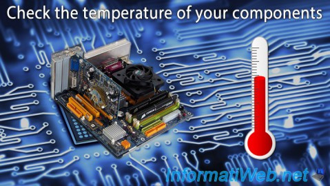 Check the temperature of your components