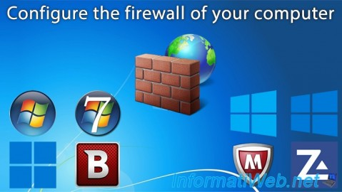 Configure the firewall of your computer