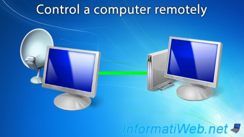 Control a computer remotely