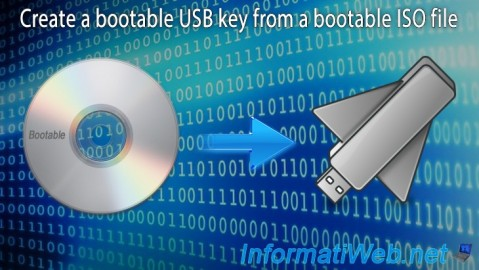 Create a bootable USB key