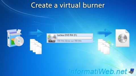 Create a virtual burner