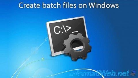 How to automate tasks on Windows using batch files