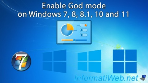 Enable God mode on Windows