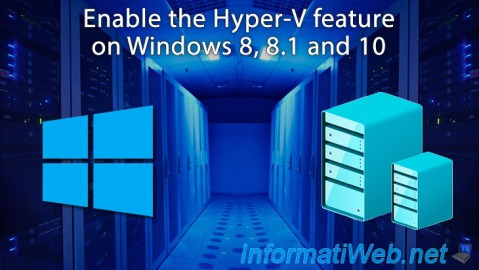 Enable the Hyper-V feature