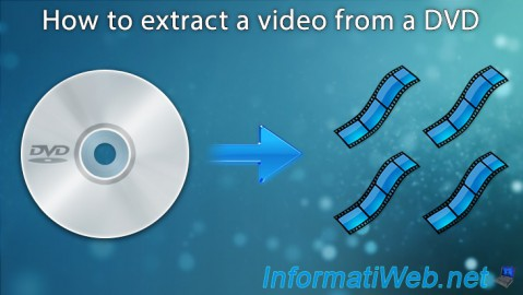 Extract a video from a DVD