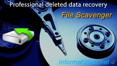 File Scavenger - Professional deleted data recovery