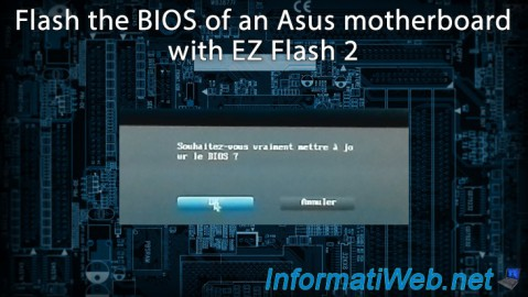 Flash (update) the BIOS of an Asus motherboard with EZ Flash 2