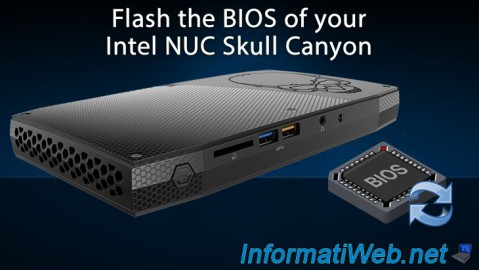Flash the BIOS of your Intel NUC Skull Canyon
