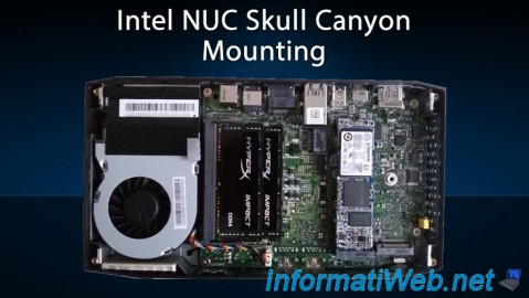 Intel NUC Skull Canyon - Mounting