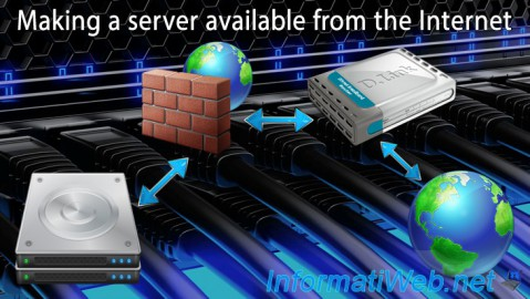 Making a server available from the Internet