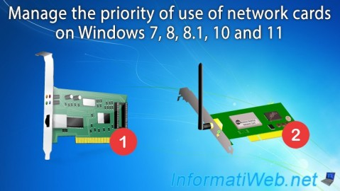 Manage network cards priority on Windows