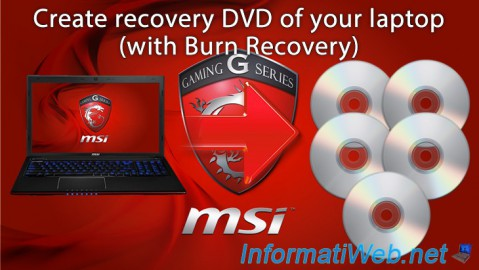 MSI - Create recovery DVD of your laptop