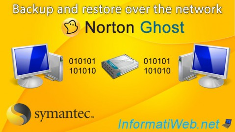 Norton Ghost - Backup and restore over the network