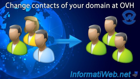 OVH - Change contacts of your domain
