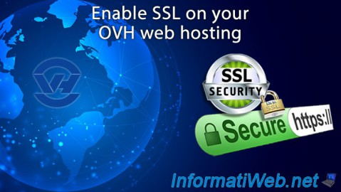Enable SSL on your OVH web hosting