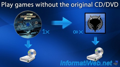 Play games without the original CD/DVD