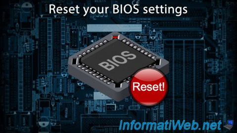 Reset your BIOS settings