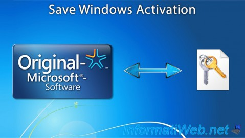 Save Windows Activation