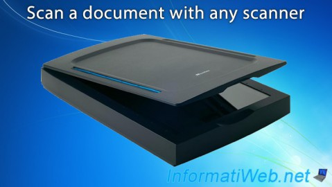 Scan a document with any scanner