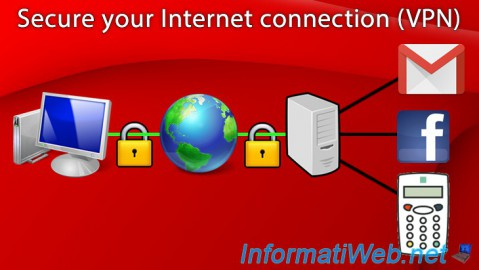 Secure your Internet connection by using VPN servers