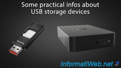 Some practical infos about USB storage devices