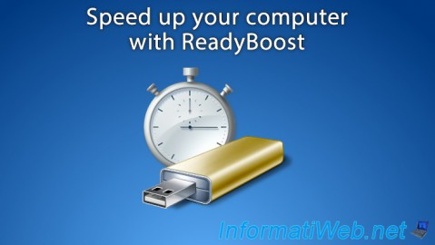 Speed up your computer (ReadyBoost)