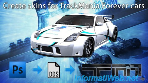 TrackMania Forever - Create skins for cars
