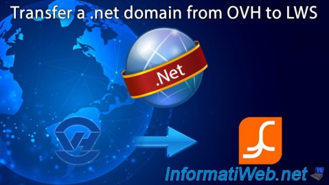 Transfer a .net domain from OVH to LWS.FR