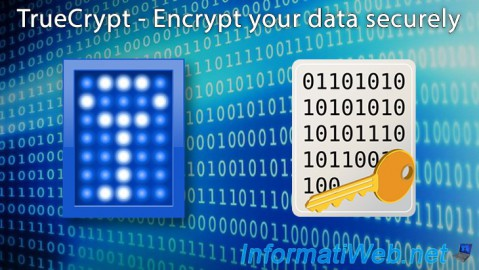 TrueCrypt - Encrypt your data securely