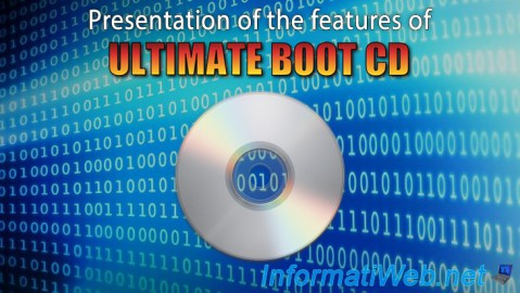 Presentation of Ultimate Boot CD features