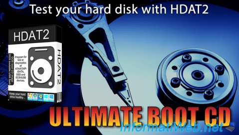 UBCD - Test your hard disk with HDAT2