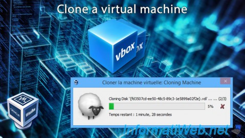 VirtualBox - Clone a virtual machine (VM)