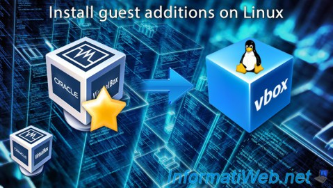 VirtualBox - Install guest additions on Linux