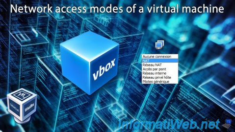 VirtualBox - Network access modes of a virtual machine