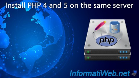 Web servers - Install PHP 4 and 5 on the same server