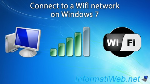 Connect to a Wifi network on Windows 7