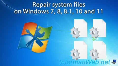 Windows - Repair system files