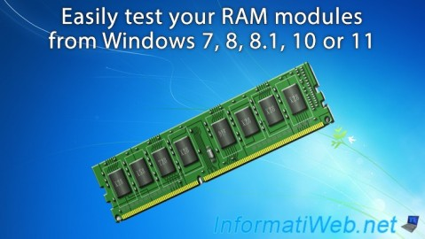 Windows - Test your RAM easily