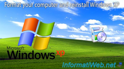 Windows XP - Formatting and reinstalling