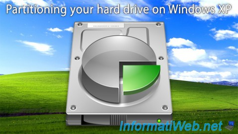Windows XP - Partitioning your hard drive