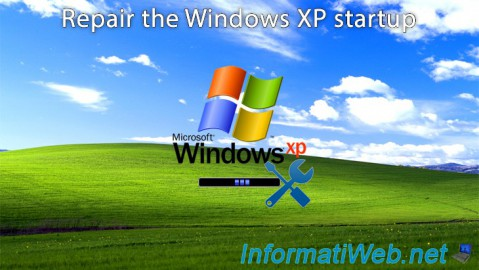 Windows XP - Startup repair